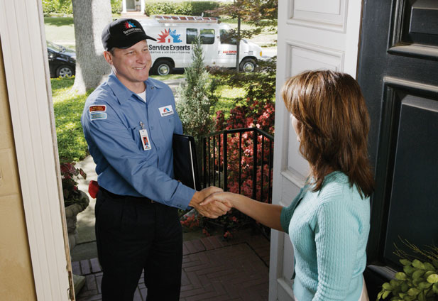 in-home estimate from Donelson Air Service Experts Heating & Air Conditioning